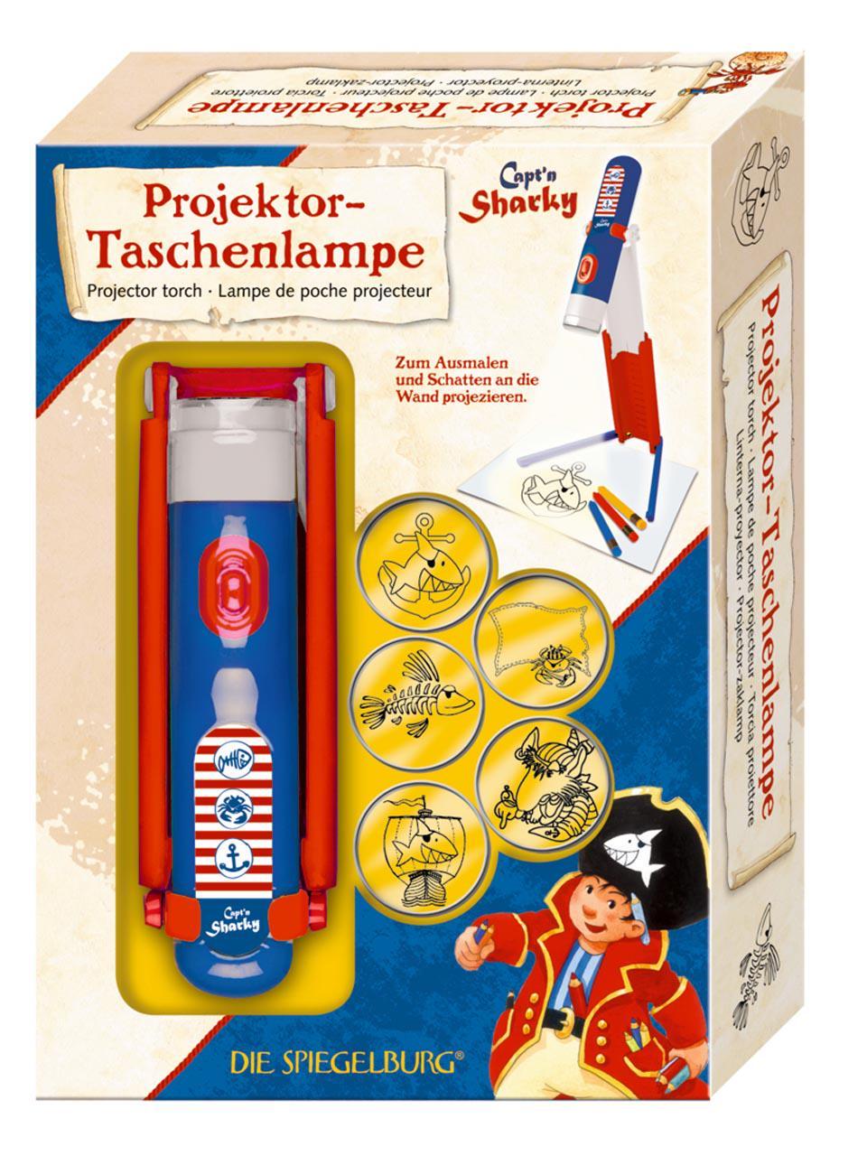 Die Spiegelburg Capt N Sharky Projektortaschenlampe Capt N Sharky Frankfurt Airport Online Shopping