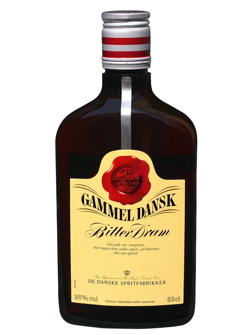 Gammel Dansk Bitter.38% 0.5L PET* 924f4eba30bf3c46