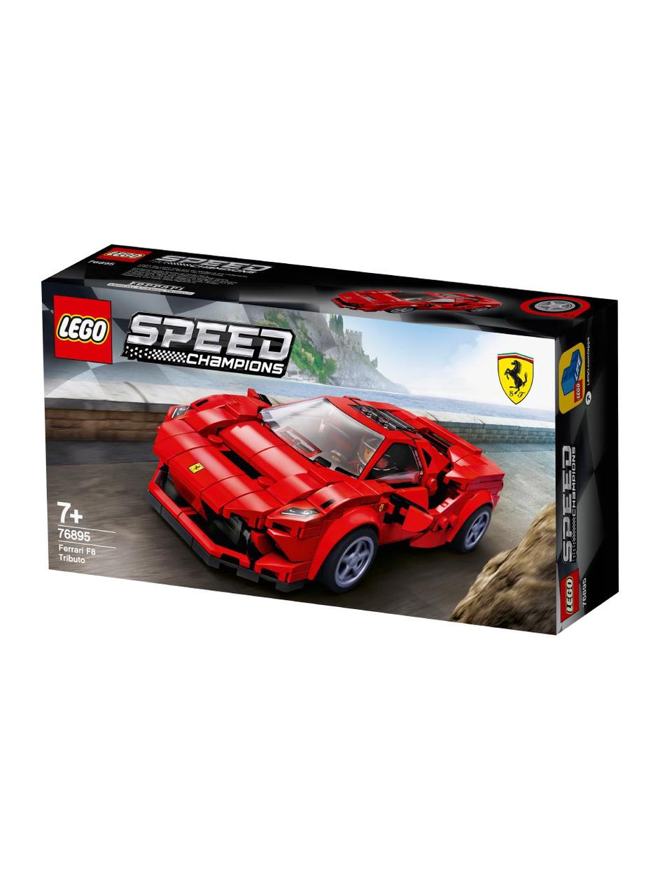 Lego Speed Champions Ferrari F8 Tributo Frankfurt Airport Online Shopping