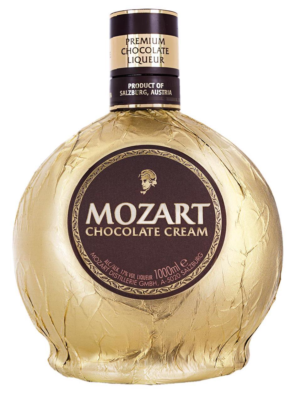 Mozart Chocolate Cream 17% 1L   Frankfurt Airport Online Shopping